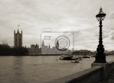 Poster Big Ben und Haus des Parlaments