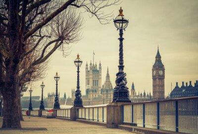 Big Ben und Häuser des Parlaments, London