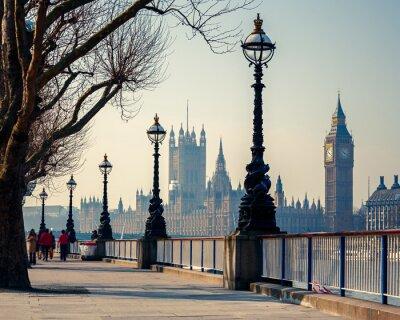 Big Ben und Houses of Parliament, London