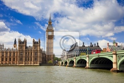 Big Ben und Houses of Parliament, London, UK