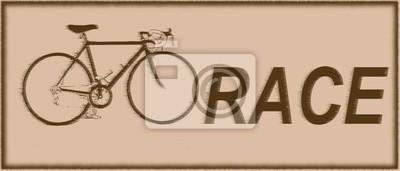 Bike-Rennen Jahrgang