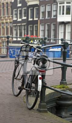 Bild von der Stadt Amsterdam in Holland