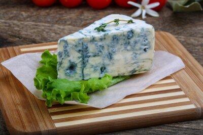 Poster Blauer Käse