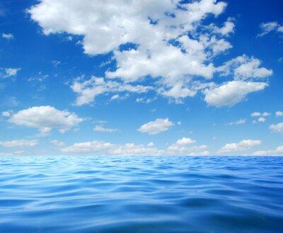 Poster Blaues Meerwasser