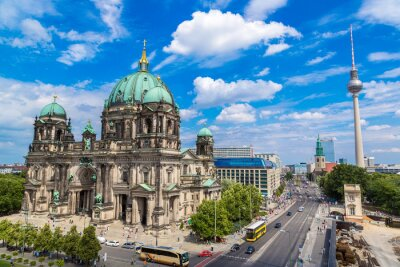 Poster Blick auf Berliner Dom