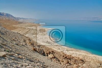 Blick auf das Tote Meer, Israel