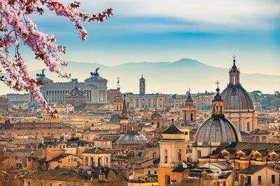 Blick auf Rom von Castel Sant'Angelo