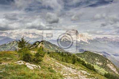 Blick vom Monte Rite, Dolomiten, Alpen, Italien