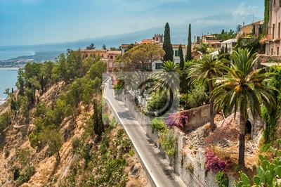 Blick von Taormina