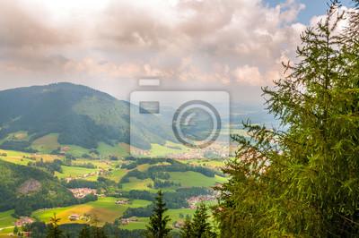 Blick von Unternberg