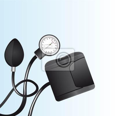Poster Blutdruckmessgerät