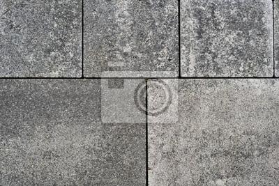 Asphalt Fußbodenplatten ~ Bodenplatten aus beton als terrassen belag wandposter u2022 poster