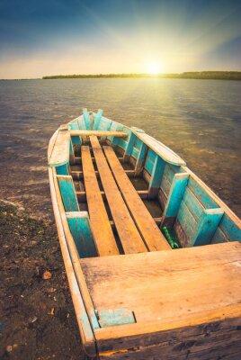 Poster Boote auf einem river_3