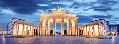 Poster Brandenburger Tor, Berlin, Deutschland - Panorama
