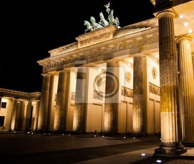 Brandenburger Tor - Porte de Brandebourg in Berlin
