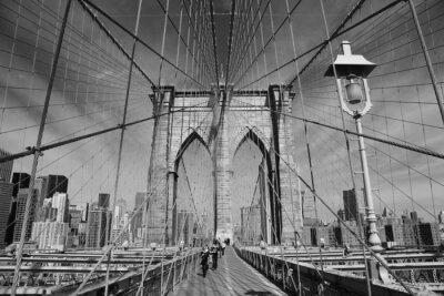 Poster Brooklyn Bridge, New York