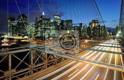 Poster Brooklyn -Brücke