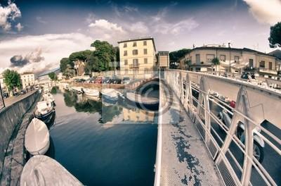 Brücke in Darsena, Viareggio