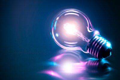 Poster Bulb Idee Konzept