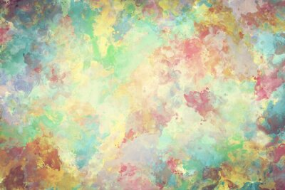 Poster Bunte Aquarellfarbe auf Segeltuch. Super hohe Auflösung und Qualität Hintergrund