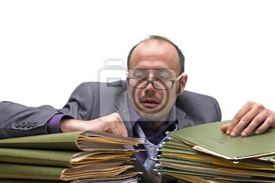 Burnout bei der Arbeit