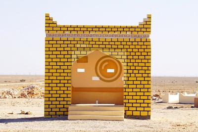 Bus Station in Sulanate von Oman