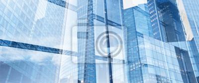 Poster Business-Hintergrund, Innovation und High-Tech