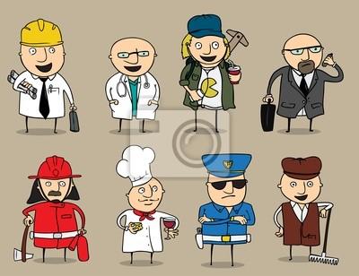 Cartoon Jobs Sammlung