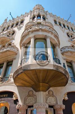 Casa Lleó i Morera . Barcelona .