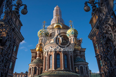 Cathedral of the Resurrection of Christ in  Petersburg