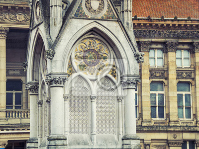 Chamberlain Memorial in Chamberlain Square, Birmingham, England