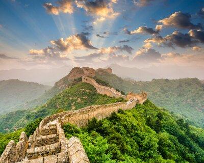 Poster Chinesische Mauer