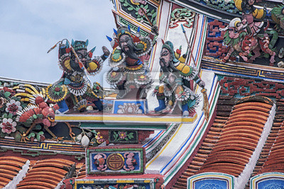 Chinesischen Tempel in Malakka, Malaysia
