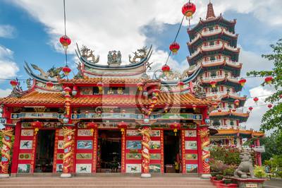 Chinesischer Tempel in Tuaran