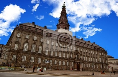 Christiansborg - Château de Christians à Copen
