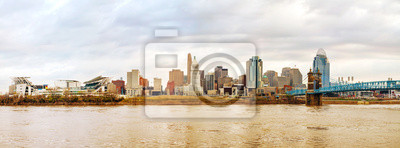 Cincinnati Innenstadt Panoramasicht