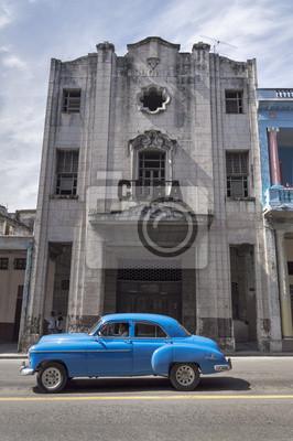 Classic American Auto in Havanna, Kuba