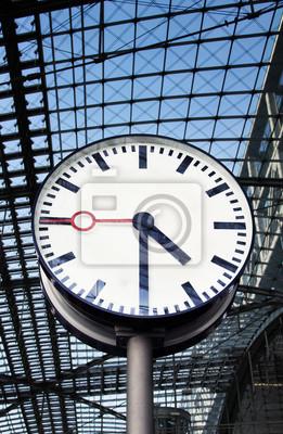 Clock am Bahnhof