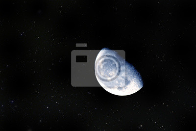 Close-up des Mondes
