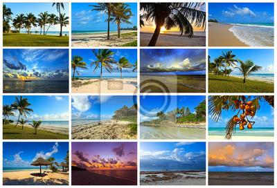 Collage Küste Diani