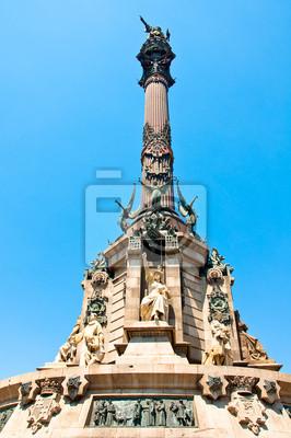 Columbus-Denkmal in Barcelona.