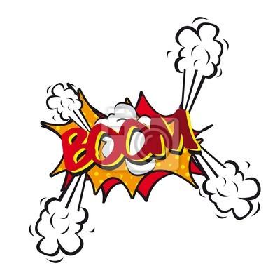 Comic-Explosion