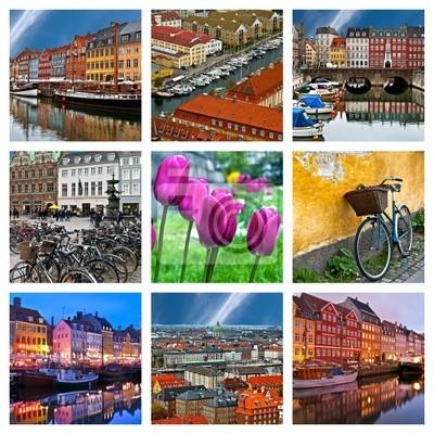 Composition de Fotografien de Kopenhagen, Dänemark