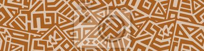 Poster Creative Geometric Vector Seamless Pattern