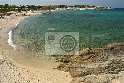 Crystal Waters der Korsika-Küste, Frankreich