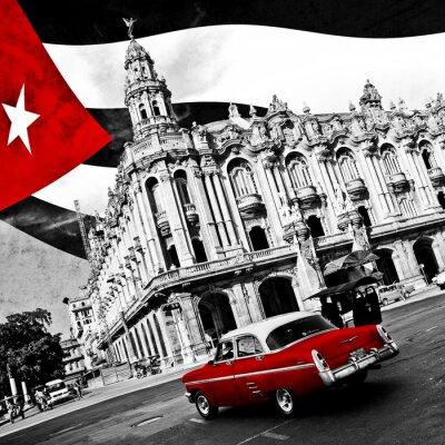 Poster Cuba (n & b)