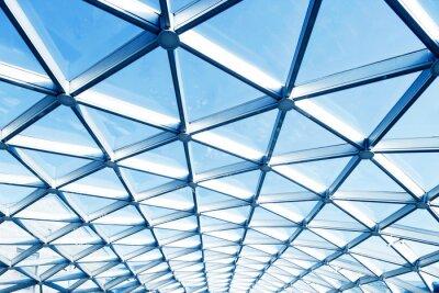 Poster Dach moden Gebäude