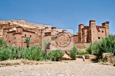 Das Fort von Ait Benhaddou, Marokko