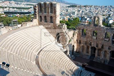 Das Odeon des Herodes Atticus, Griechenland, Athen.