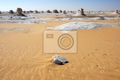 Das Weiße Wüstenlandschaft